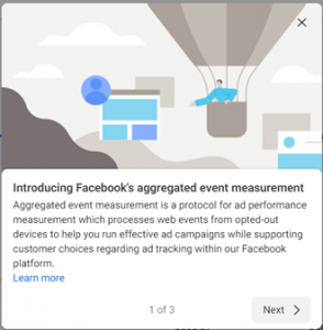 Facebook aggregated event measurement explainer